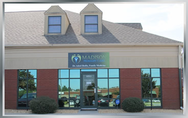 Madison Primary Care located in the West Dublin Office Center, Madison Alabamba
